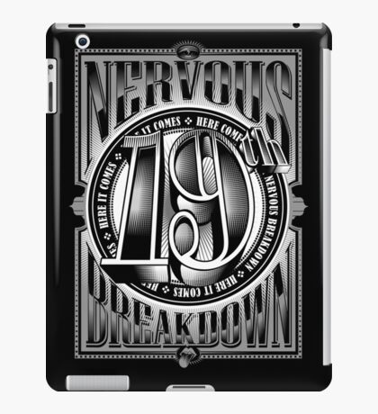 19th Nervous Breakdown iPad Case/Skin