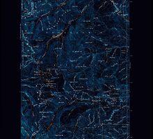 USGS Topo Map Washington State WA Mount Aix 242462 1902 125000 Inverted by wetdryvac