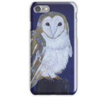 On The Hunt - Barn Owl iPhone Case/Skin
