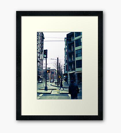 cityscaping Framed Print