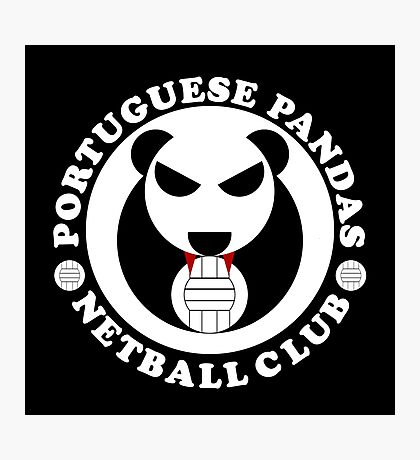 Portuguese Pandas Photographic Print