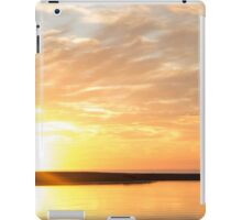 Lakeside Sunrise iPad Case/Skin