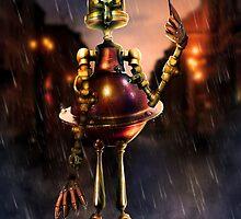 Rusty the robodork by MadameThenadier