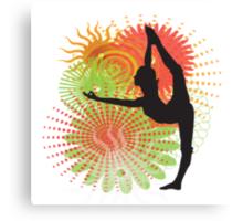 Yoga Dancer Pose Canvas Print