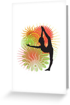 Yoga Dancer Pose by designerjenb