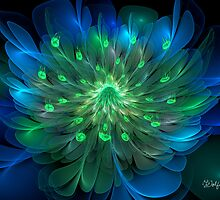 Peacock Bloom by wolfepaw