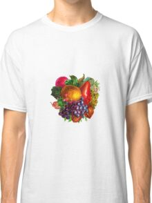Vintage Fruit and Nuts Classic T-Shirt