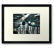 Awesome Lighting solved by pix-elation Framed Print