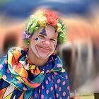 Blue Clown by Walter Cahn