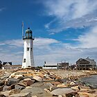 Scituate Light, Scituate, MA by Stephen Cross Photography