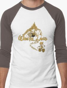 The Happiest Place Left On Earth Men's Baseball ¾ T-Shirt