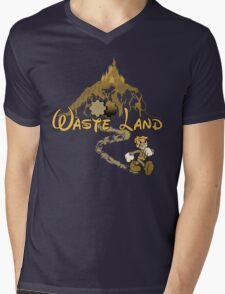 The Happiest Place Left On Earth Mens V-Neck T-Shirt