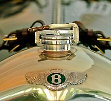 1925 Bentley Hood Emblem by Jill Reger