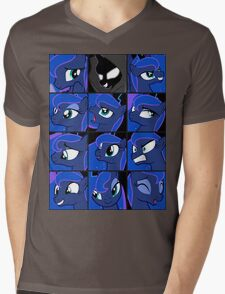 Princess Luna Mens V-Neck T-Shirt
