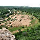 A river runs through it - Makuya - Limpopo Province - SA by Sandy Beaton
