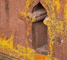 Window in Bet Giorgis by Karen Millard