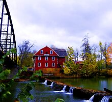 Scenic War Eagle Mill, Rogers Arkansas. by Carolyn Wright