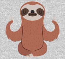 Sloth doing yoga One Piece - Short Sleeve
