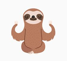 Sloth doing yoga Unisex T-Shirt