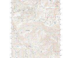 USGS Topo Map Washington State WA Chumstick Mountain 20110601 TM by wetdryvac
