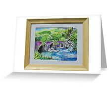 StonyBrook Park, Darien Greeting Card
