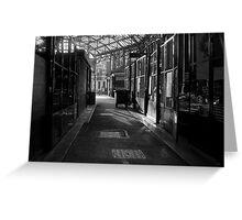 borough Market. Greeting Card
