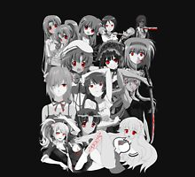 Anime manga yandere and psycho characters Unisex T-Shirt