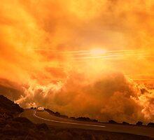 Sunset On Haleakala by Alex Preiss