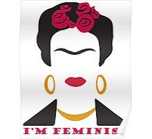 Feminist Frida Kahlo Poster