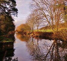 Chesterfield Canal by John Dunbar