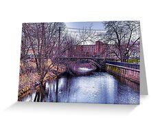 bridge hdr Greeting Card