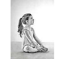 Young Ballerina Photographic Print
