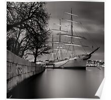 Smooth Sailing Into The Harbor Of Dreams Poster