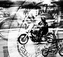 Harley Ride by Walter Cahn