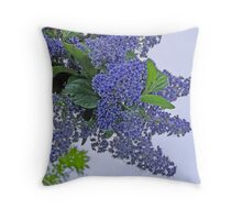 Ceanothus Throw Pillow