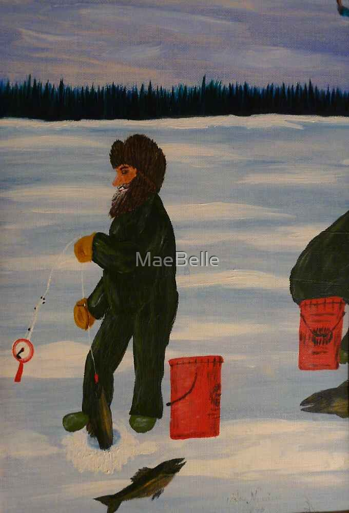 Ice Fishing by MaeBelle