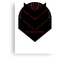 Mass Effect - SPECTRE (Red) Canvas Print