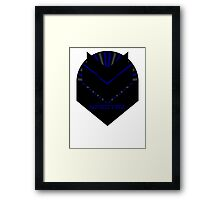 Mass Effect - SPECTRE (Blue) Framed Print