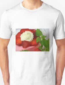 Strawberry Yoghurt Dessert Unisex T-Shirt