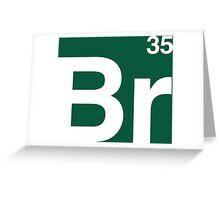 Br 35 -Breaking Bad Periodic Greeting Card