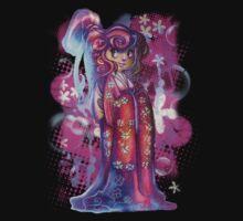Clover Geisha T-shirt by SaradaBoru