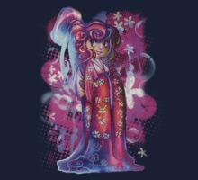 Clover Geisha T-shirt Kids Tee