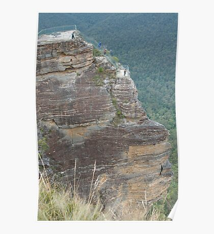 Pulpit Rock, Blue Mountains, NSW Poster