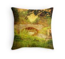 Sinnington Bridge, North Yorkshire. UK. Throw Pillow
