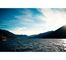 Lake Como, Italy Photographic Print
