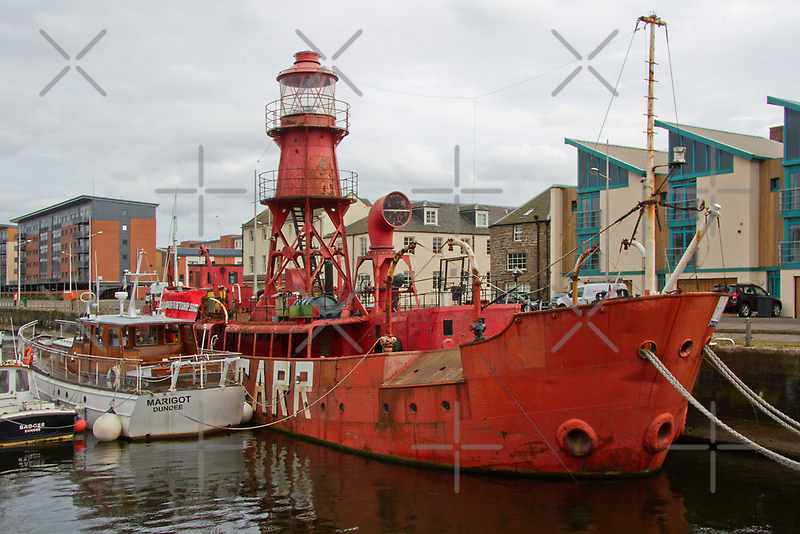 The North Carr Lightship by Tom Gomez