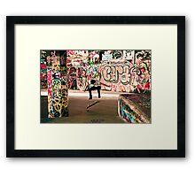 Flips, London Framed Print