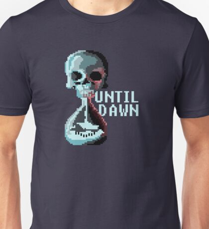 8-bit Until Dawn Unisex T-Shirt