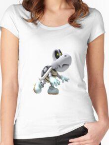 Dry Bones Women's Fitted Scoop T-Shirt