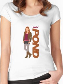 POND. Amy POND Women's Fitted Scoop T-Shirt